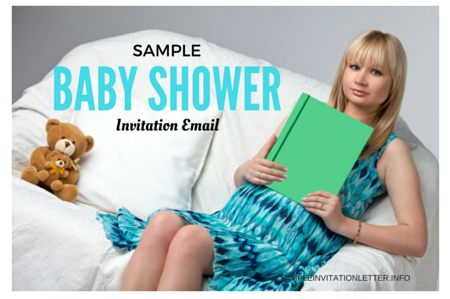 Sample Baby Shower Invitation Email