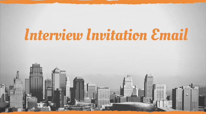 interview invitation email with sample sample invitation letter