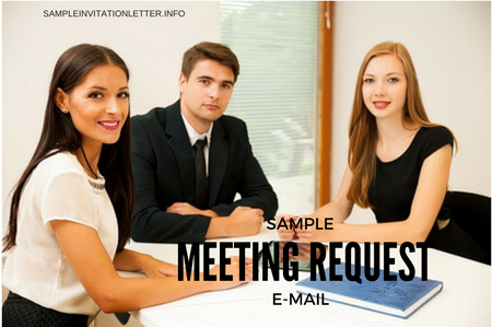 meeting request email how to write one with samples